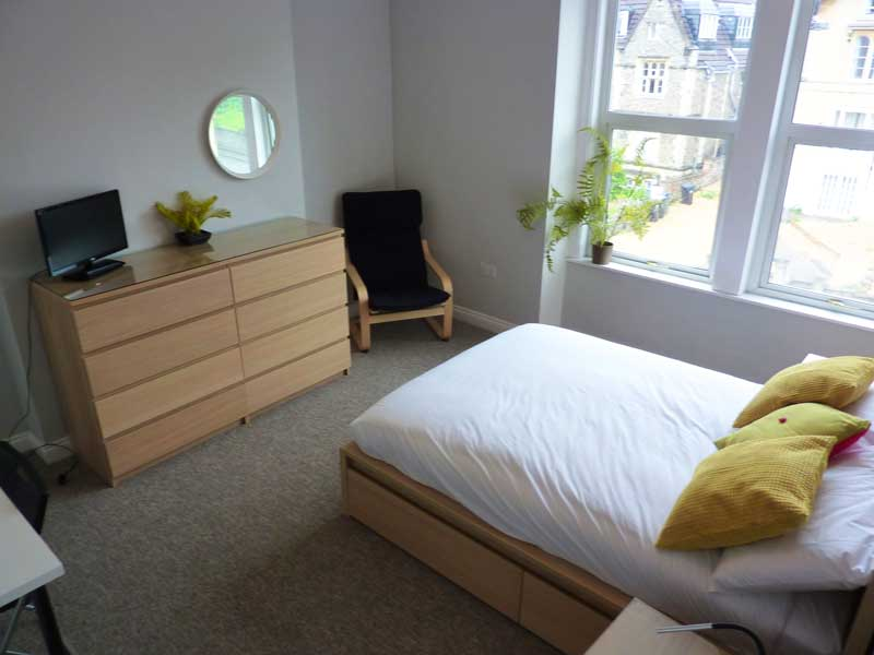 Bedroom 3 - middle floor front, huge double with ensuite