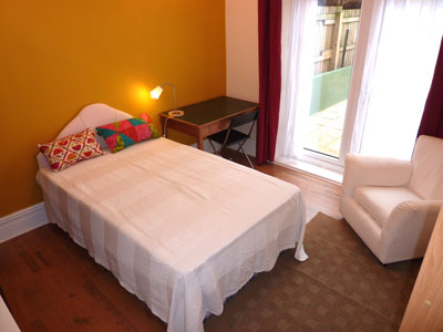 Room 4, large double room opening onto terrace